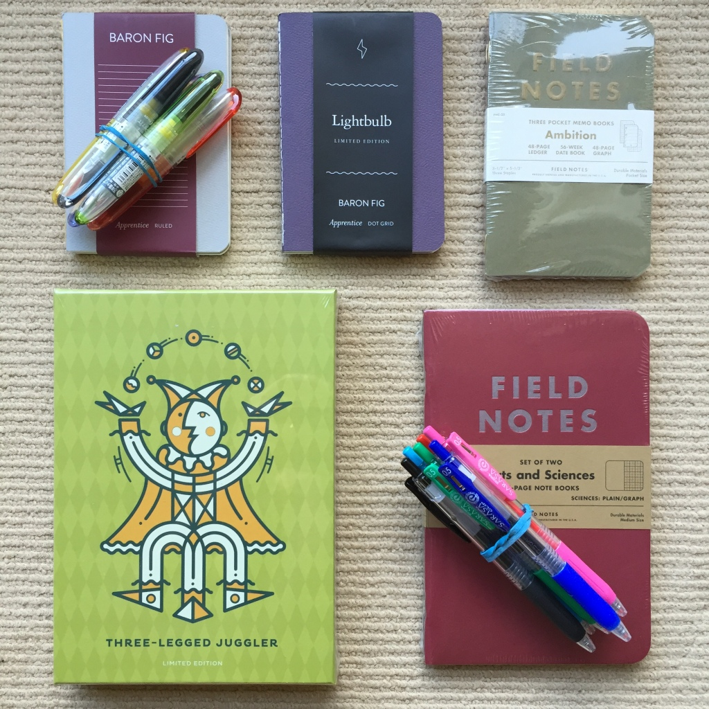 So much to love about pen and paper when it comes to gift giving.