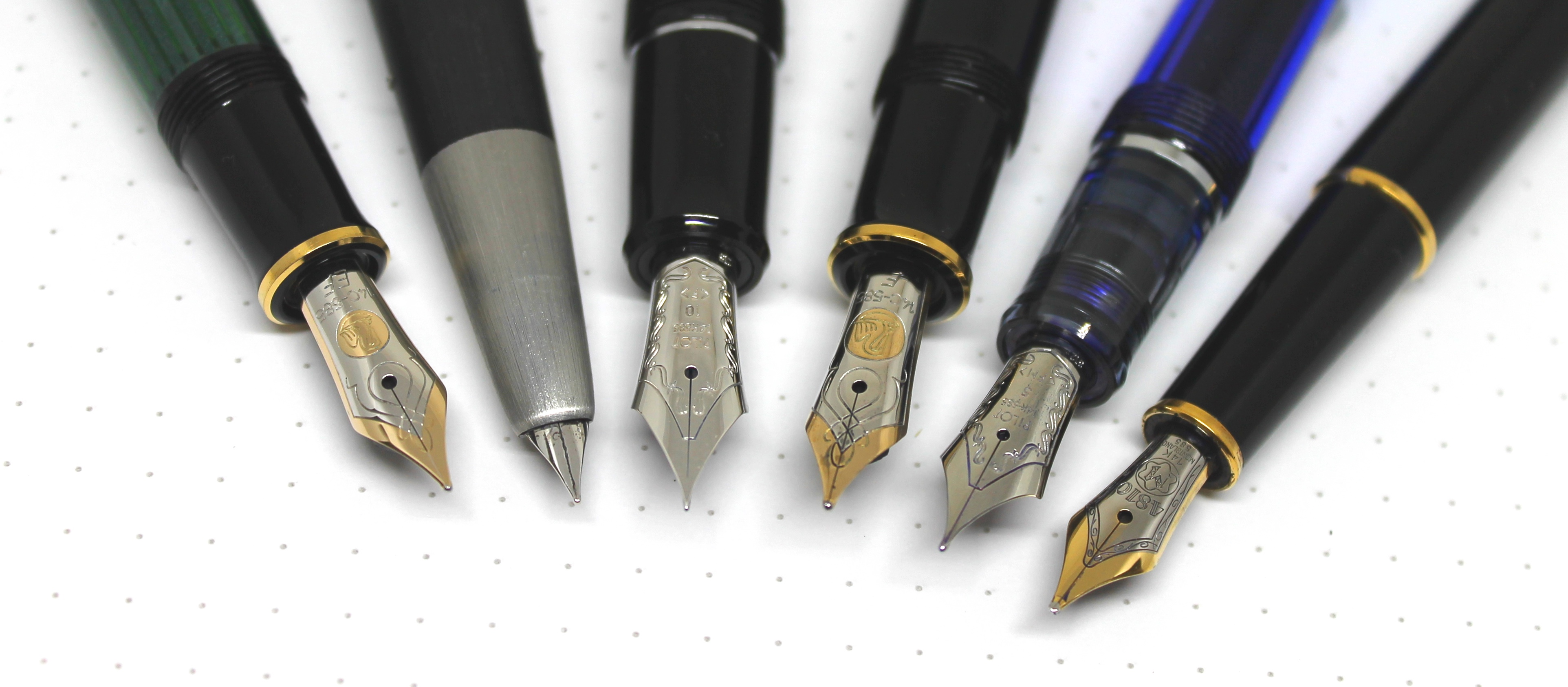 Fountain Pen Nibs Of Steel And Gold Pete Denison